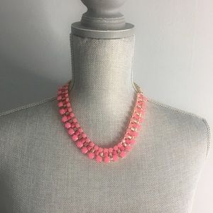 Jewelry - Two Toned Pink Statement Necklace